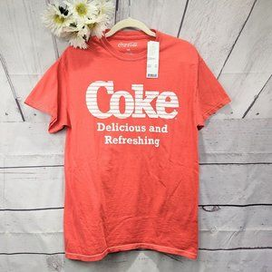 Coke NWT Delicious and Refreshing Red T-shirt SZ M
